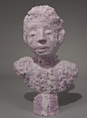 Dripping Pink Portrait Bust - 74