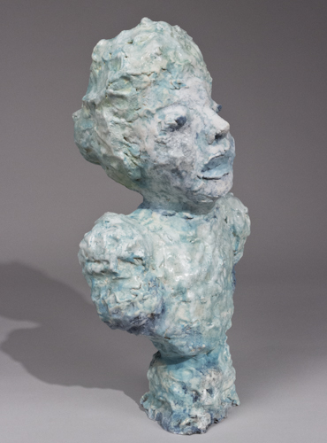 Portrait Bust with Blue Lips - 47b