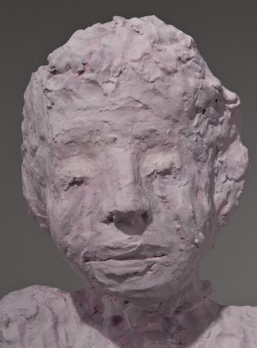 Dripping Pink Portrait Bust - 73