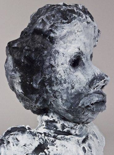 White-Portrait-Bust-with-Black-Spatters-64b